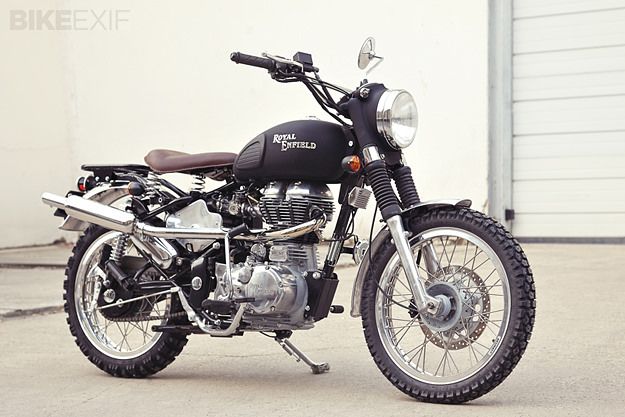 Custom Royal Enfield by Tendance Roadster of France.