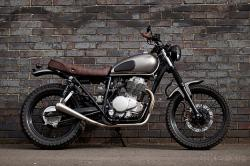Honda CL400 by Urban Rider
