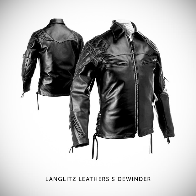 Vintage motorcycle jacket by Langlitz Leathers