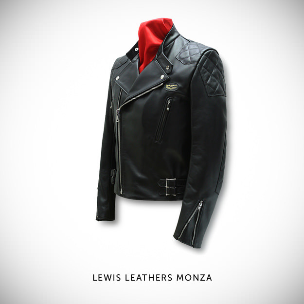 Motorcycle jacket by Lewis Leathers