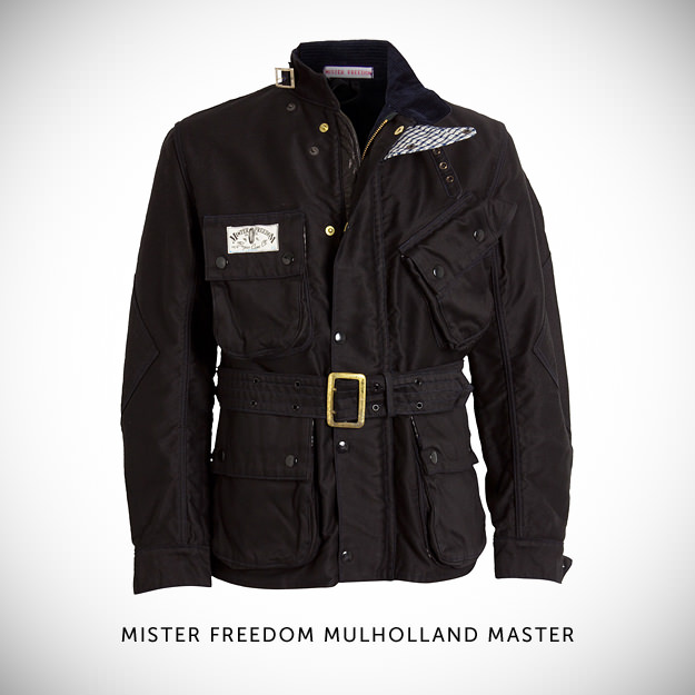 Vintage motorcycle jacket by Mister Freedom