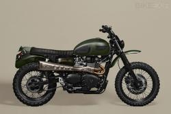 Triumph Scrambler by Ton-Up Garage