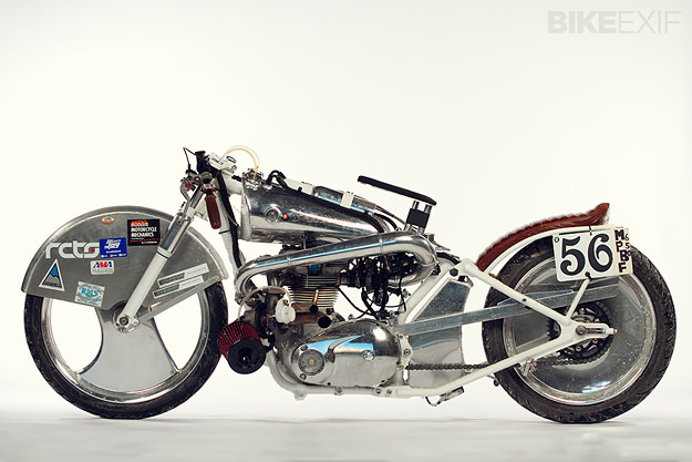 Turbocharged motorcycle