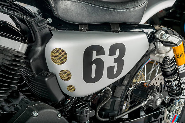 Intoxicating: Shaw Speed's Martini-themed Harley XL883R