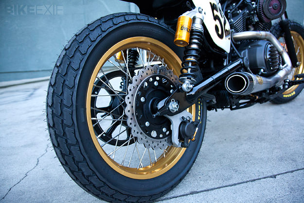 Yamaha Bolt motorcycle customized by Roland Sands.
