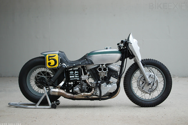 1952 Harley Panhead by Noise Cycles