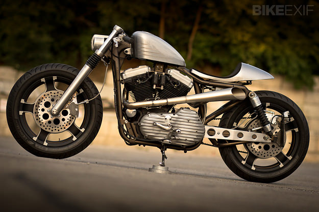 1995 Harley-Davidson Sportster customized by Bull Cycles