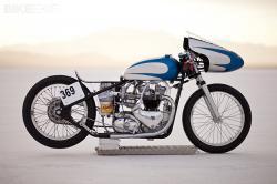 Triumph 6T Thunderbird salt racer