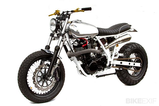 Yamaha SR400 by Deus