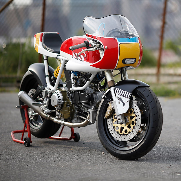 Ducati 900 SS customized for Puma