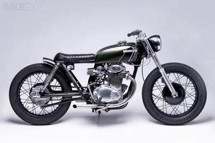 1973 Honda CB350 custom