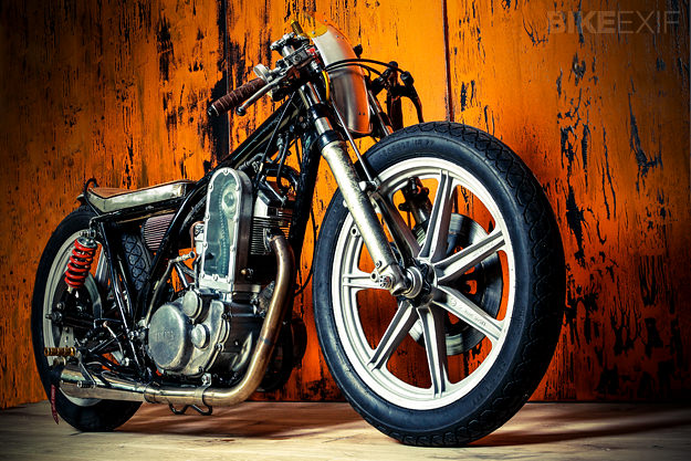 Porsche-engined motorcycle