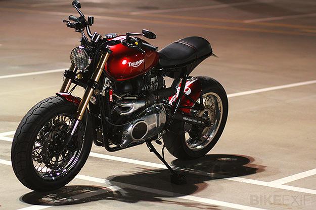 2008 Triumph Bonneville custom motorcycle