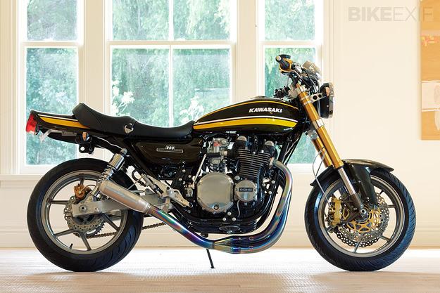 Kawasaki Z1A by Graeme Crosby