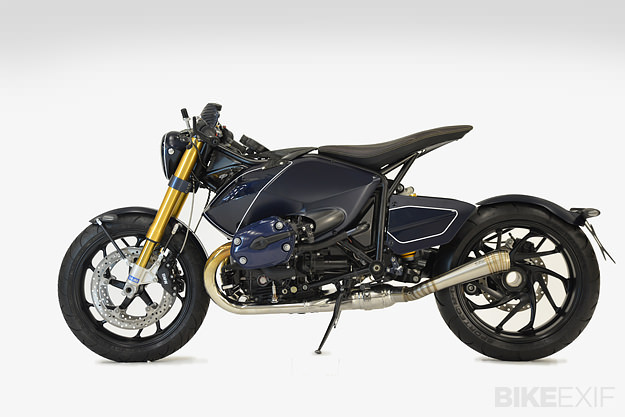 BMW R1200 custom motorcycle