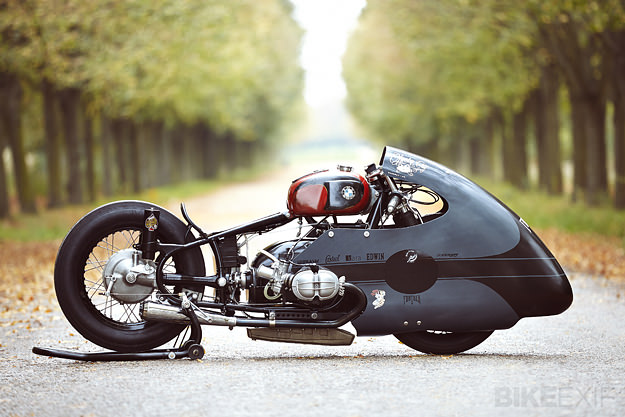 BMW racing motorcycle