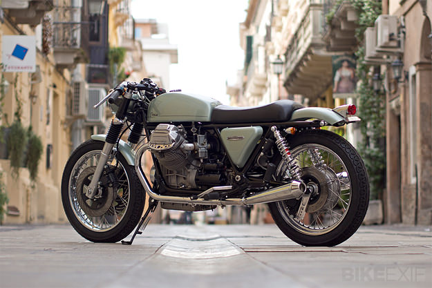 Moto Guzzi 1000 SP custom motorcycle