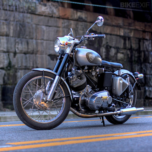 Aniket Vardhan's incredible Royal Enfield Musket V-twin