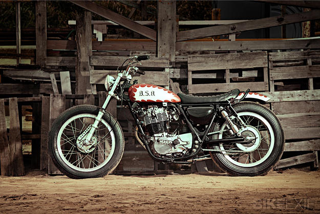 Yamaha SR400 Yard Built
