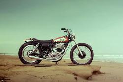 Yamaha SR400 'Boogie Single Racer'