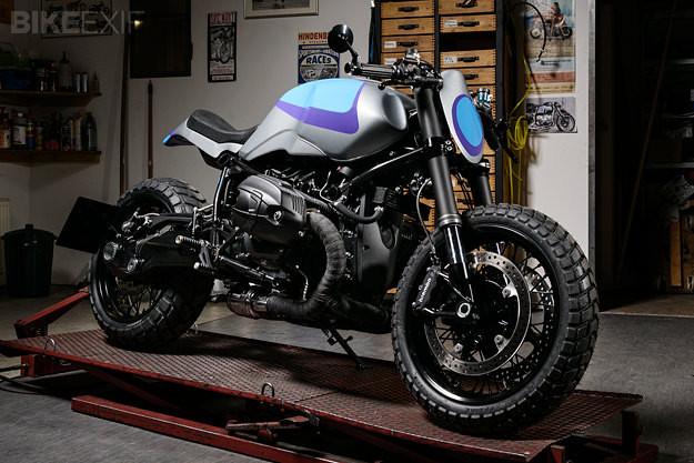 BMW R nineT custom motorcycle