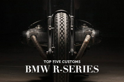 BMW R-series custom motorcycles