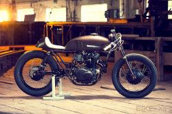 Honda CB cafe racer by ExesoR