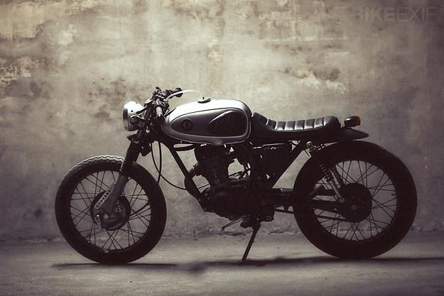 CAFE RACER 76 HONDA CBS125 BY DAUPHINE LAMARCK