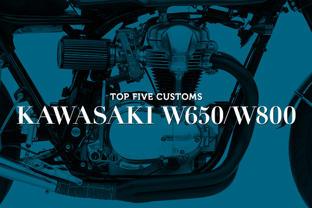 Kawasaki W650 and W800 customs