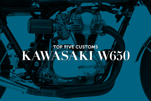 Kawasaki W650 customs