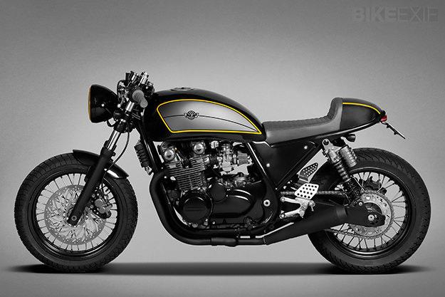 Kawasaki Zephyr custom motorcycle