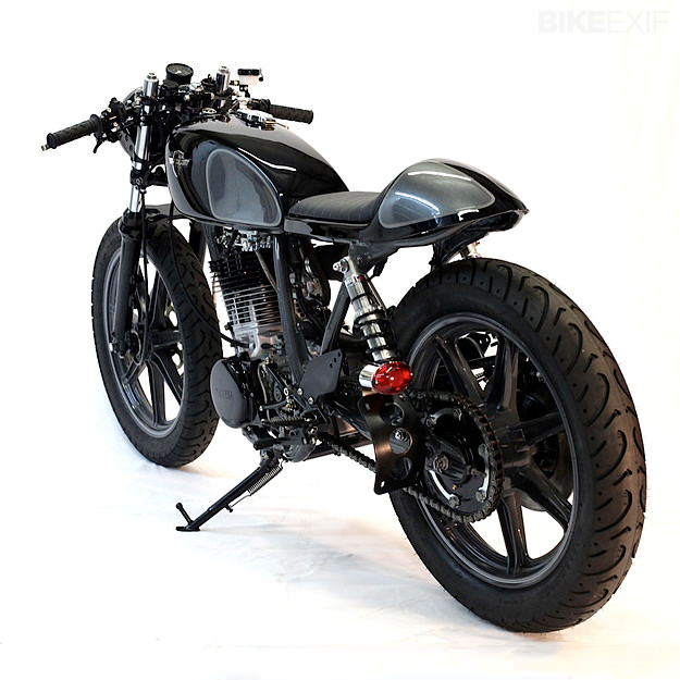 Yamaha SR500 by Chappell Customs