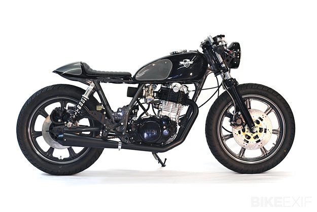 yamaha sr500 by chappell customs bike exif. Black Bedroom Furniture Sets. Home Design Ideas