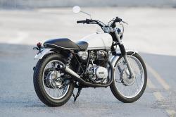 Yamaha XS400 by Walt Siegl