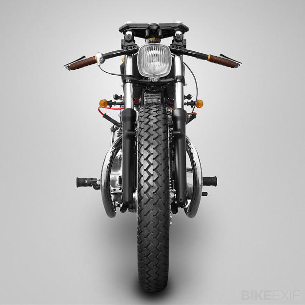 Yamaha XS650 custom motorcycle