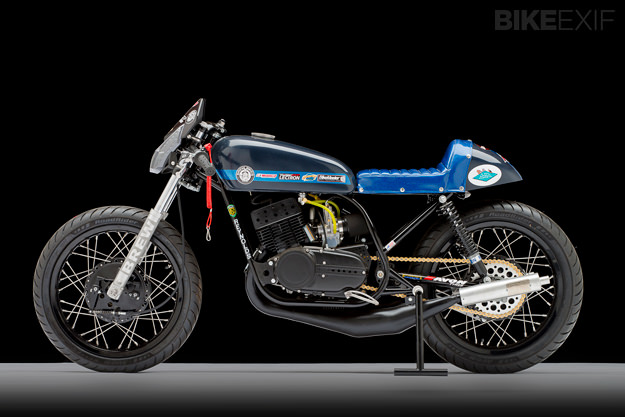 RD350 custom motorcycle