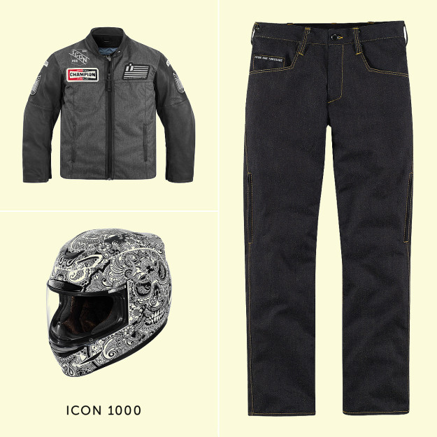 Icon 1000 motorcycle gear