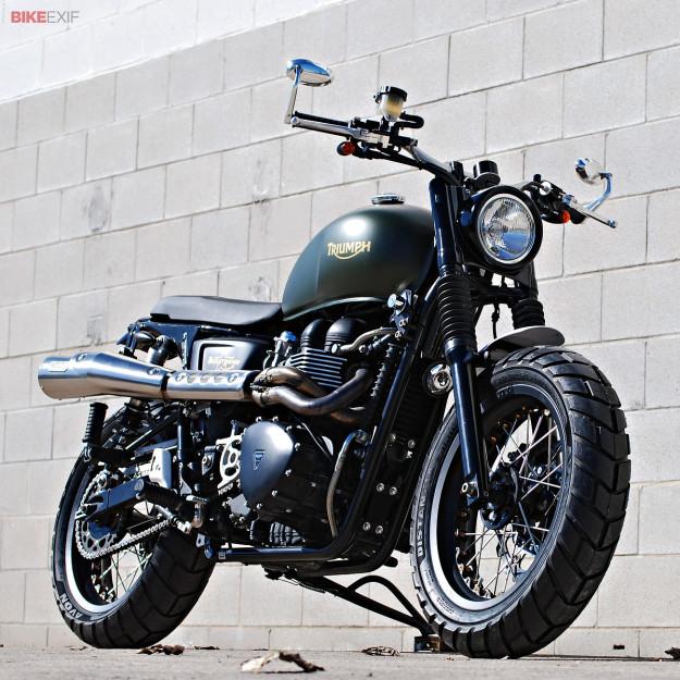 Custom Triumph Scrambler