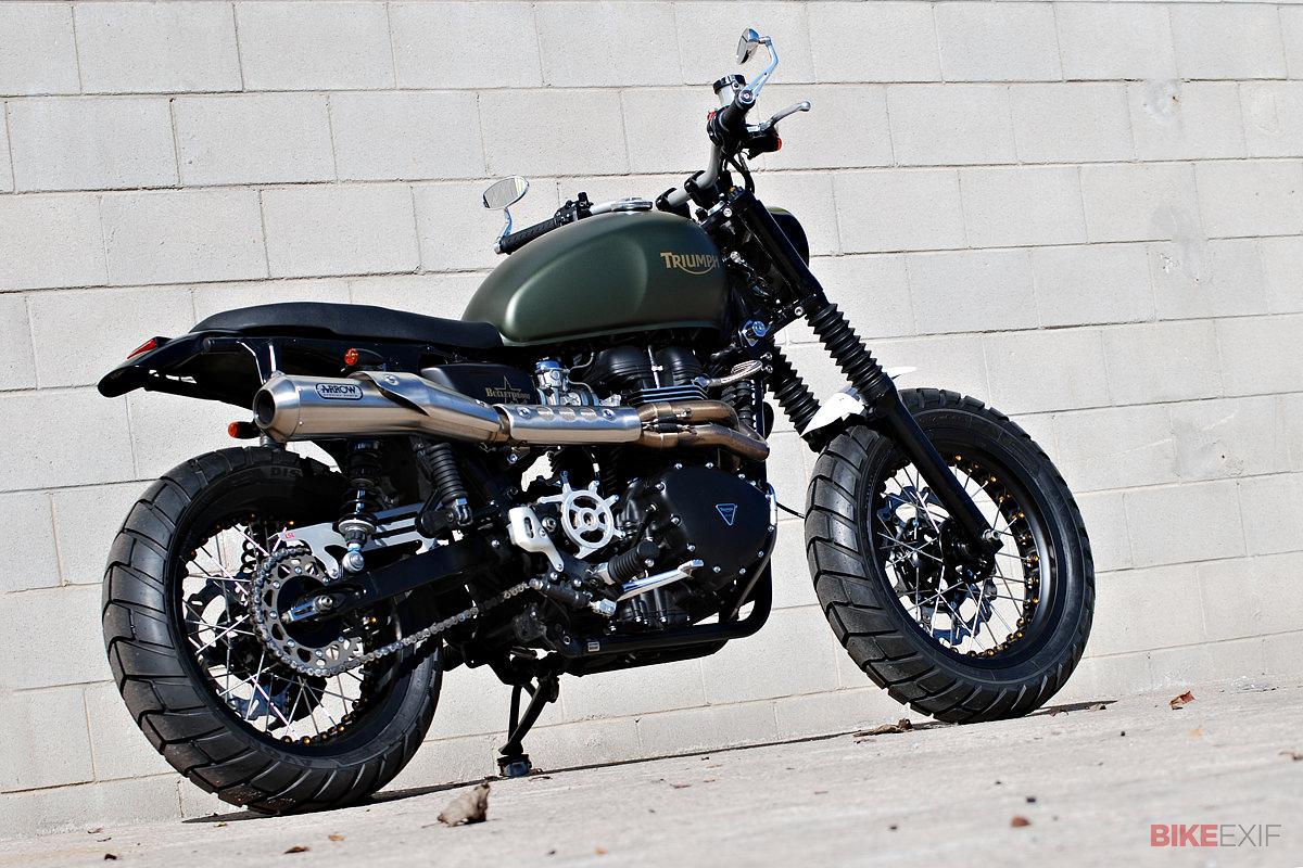 custom triumph scrambler | bike exif