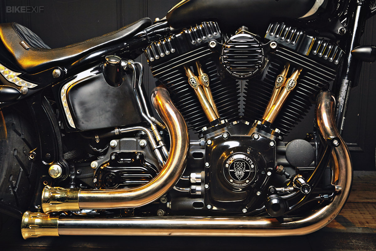 badass softail w w w softails pinterest. Black Bedroom Furniture Sets. Home Design Ideas
