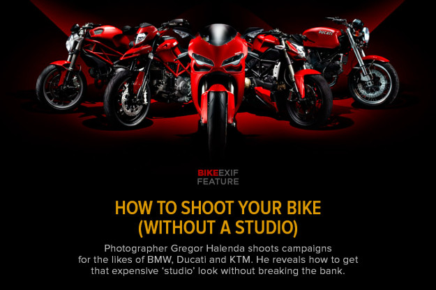 Motorcycle Photography without a studio