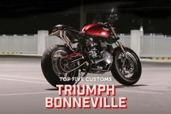 Top 5 Triumph Bonneville customs
