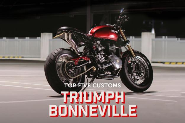 Triumph Bonneville customs