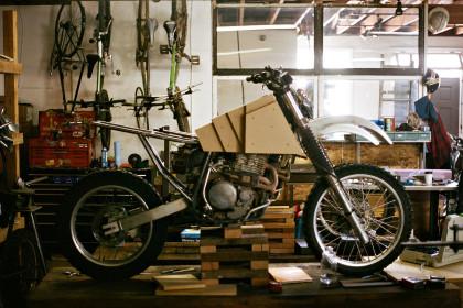Adventure motorcycles: tank