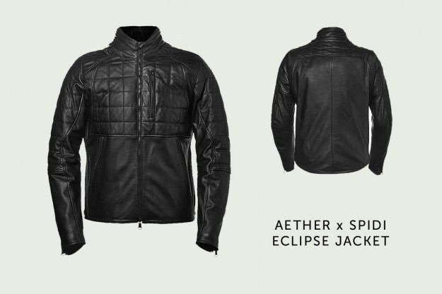 Aether x Spidi motorcycle jacket