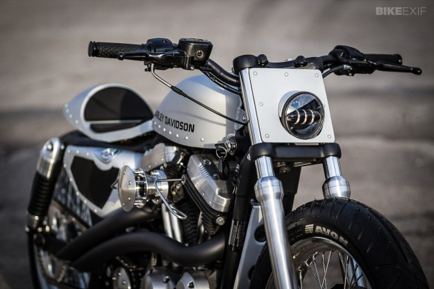 Customized Harley-Davidson Nightster by Bull Cycles