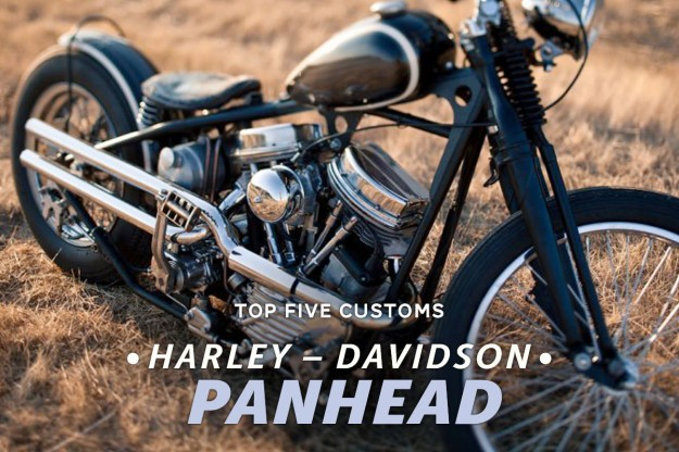 Harley Panhead customs