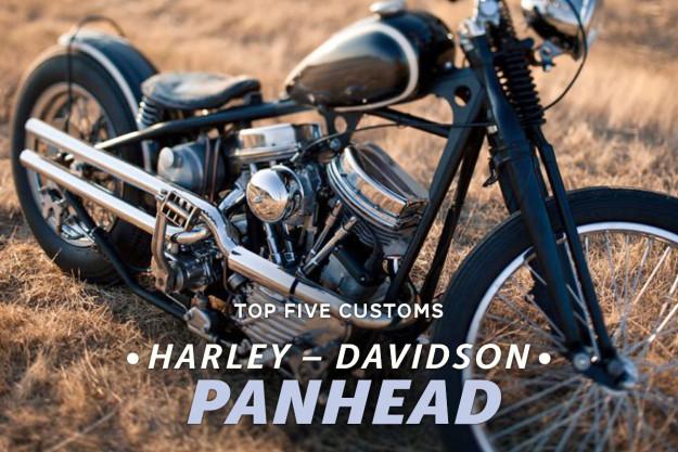 Harley Panhead customs