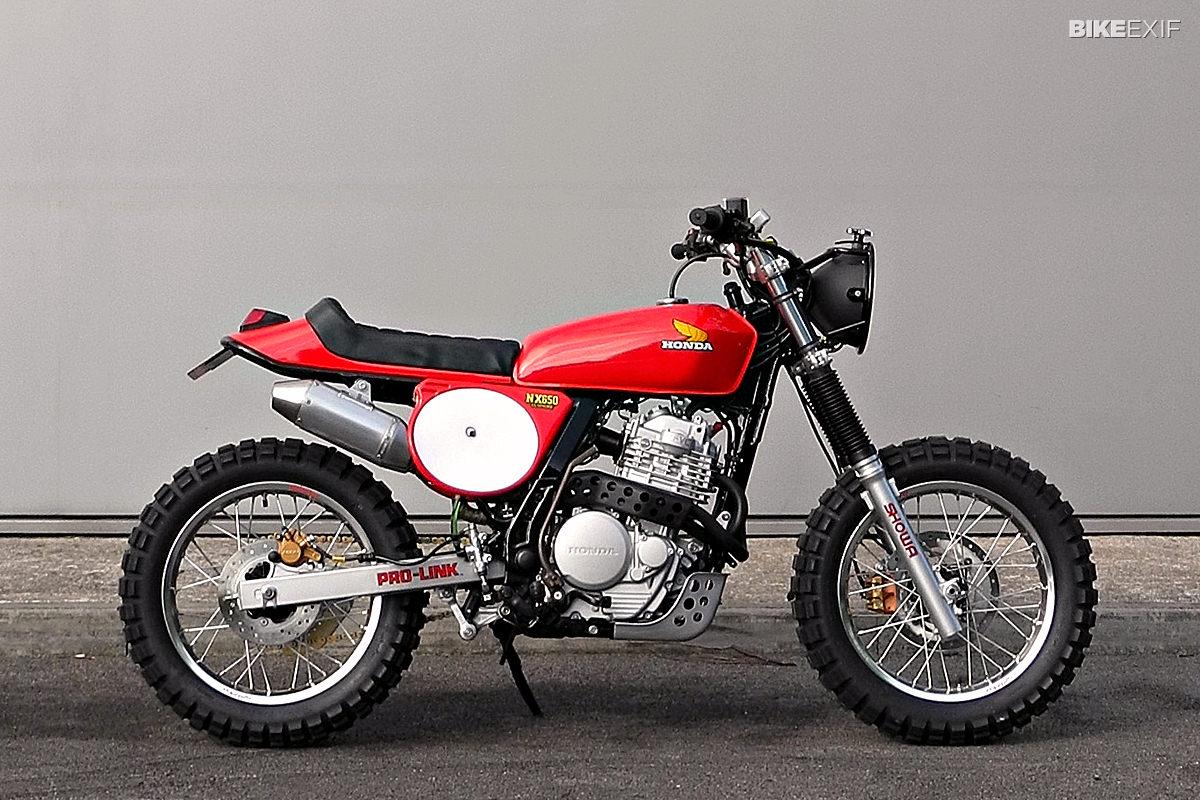 top 5 honda nx650 | bike exif