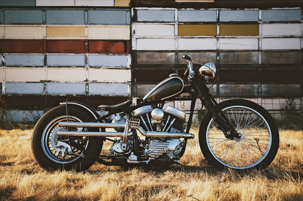 Panhead by Wrecked Metals